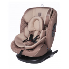 Baby Care SHELTER  (Поворотная база,ISOFIX) 0-36 кг Eco-Beige/Sand Brown