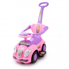 Baby Care Cute Car (музыка, ручка) арт. 558W розовый